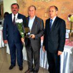 """Efim Agachi (în centru), SRL ,,Armir""""- """"Pentru integrare activă în societate"""""""