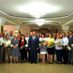 Antreprenorii raionului Soroca împreună cu preşedintele raionului Ghenadie Muntean