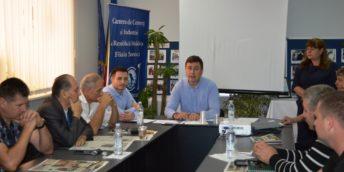 """Masa rotundă cu genericul """"Combaterea corupţiei în Moldova: ce poate face businessul?"""""""