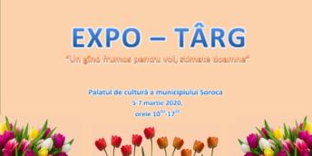 """Expo-târg """"Un gând frumos pentru voi, Stimate Doamne"""""""